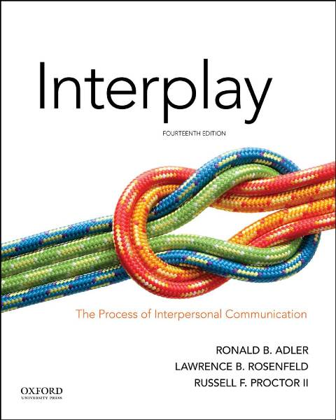 EBOOK : Interplay: The Process of Interpersonal Communication, 14th Edition