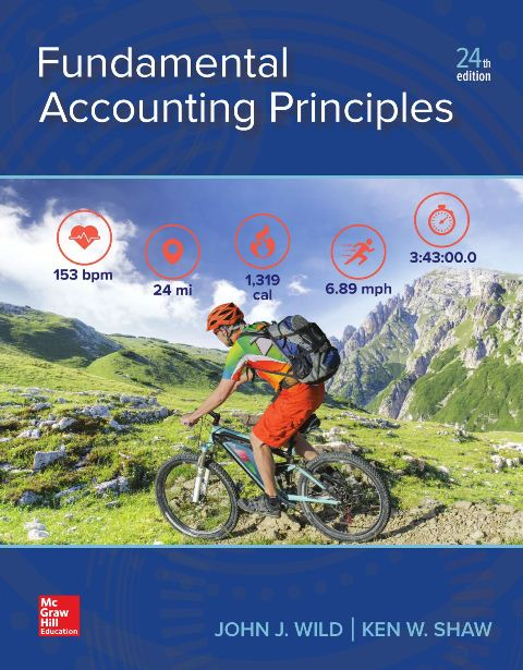 EBOOK : Fundamental Accounting Principles, 24th Edition