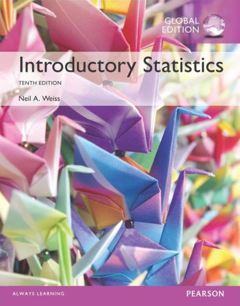 EBOOK : Introductory Statistics, 10th edition, Global Edition