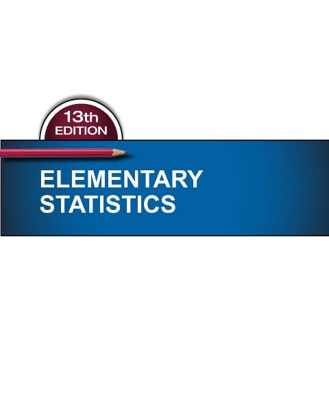 EBOOK : Elementary Statistics; 13th Edition