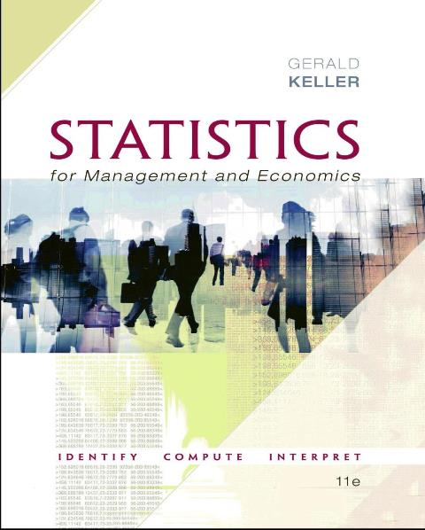 EBOOK : Statistics for Management and Economics, 11th Edition