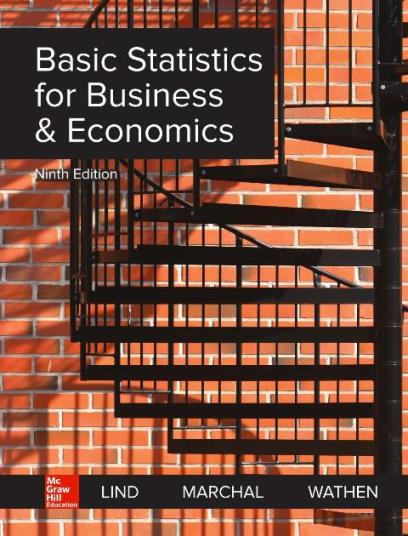 EBOOK : Basic Statistics For Business And Economics, 9th Edition