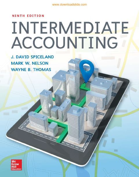 EBOOK : Intermediate Accounting, 9th Edition