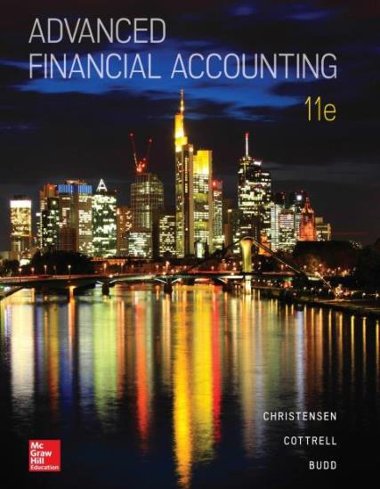EBOOK : Advanced Financial Accounting,  11th edition