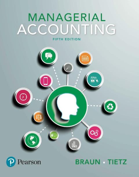 EBOOK : Managerial Accounting, 5th Edition