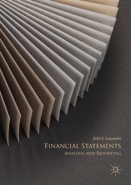 EBOOK : Financial Statements ; Analysis and Reporting,