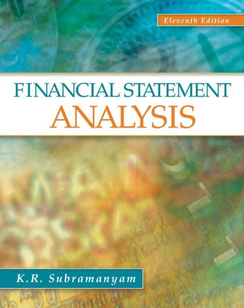 EBOOK : Financial Statement Analysis, 11th Edition