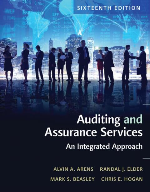 EBOOK : Auditing and Assurance Services ; An Integrated Approach, 16th Edition