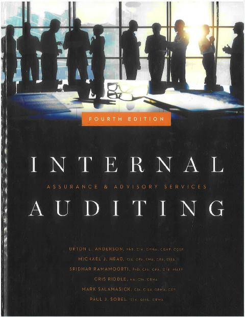EBOOK : Internal Auditing ; Assurance & Advisory Services, 4th Edition
