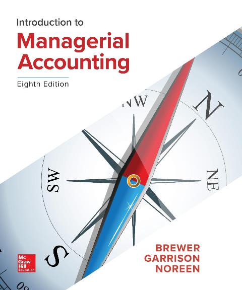 EBOOK : Introduction to Managerial Accounting, 8th Edition