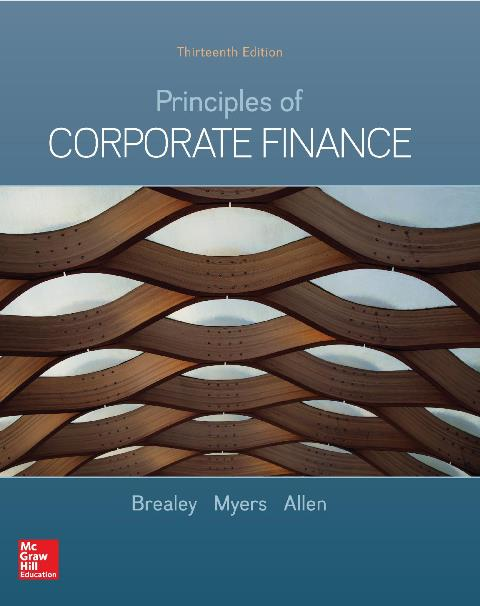 EBOOK : Principles of Corporate Finance, 13th Edition