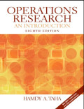 EBOOK : Operations Research An Introduction, 8th Edition