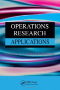 EBOOK : Operations Research Applications