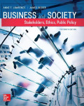 EBOOK : Business And Society : Stakeholders, Ethics, Public Policy, 15th Edition