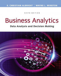 Image of EBOOK : Business Analytics: Data Analysis & Decision Making,  6th Edition