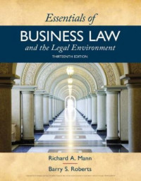 Image of EBOOK : Essentials of Business Law and the Legal Environment, 13th Edition