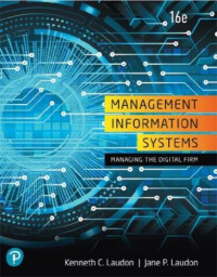 Image of EBOOK : Management Information Systems: Managing The Digital Firm, 16 th Edition