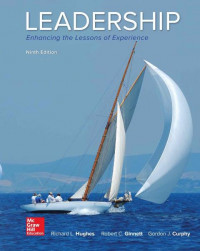 Image of EBOOK : Leadership: Enhancing The Lessons Of Experience, 9th Edition