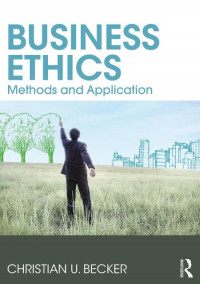 Image of EBOOK : Business Ethics ; Methods and Application, 1st Edition